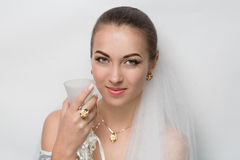 Perfect bride Stock Image