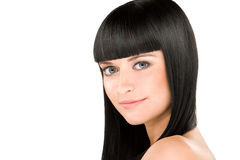 Perfect brunette Royalty Free Stock Image