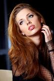 Perfect brunette beauty Royalty Free Stock Photos