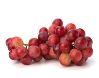 Perfect bunch of red grapes Royalty Free Stock Photography