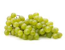 Perfect bunch of white grapes Stock Images