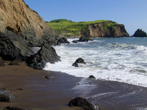 Perfect California Coast. Marin Headlands, Rodeo beach end Stock Photography