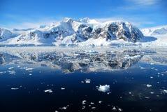 Perfect Calm Ocean In Antarctica Royalty Free Stock Image