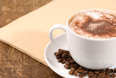 Perfect Cappuccino Stock Photography