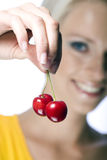 Perfect cherry Stock Image
