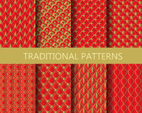 Perfect chinese pattern Royalty Free Stock Photos