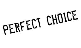 Perfect Choice rubber stamp Royalty Free Stock Photo
