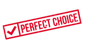 Perfect Choice rubber stamp Royalty Free Stock Images