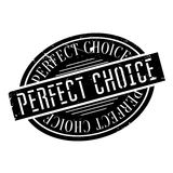 Perfect Choice rubber stamp. Grunge design with dust scratches. Effects can be easily removed for a clean, crisp look. Color is easily changed vector illustration