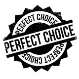 Perfect Choice rubber stamp Stock Photography