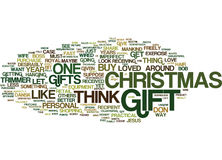 The Perfect Christmas Gift Text Background  Word Cloud Concept Royalty Free Stock Photography