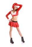Perfect christmas girl Stock Photography