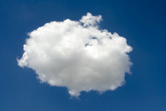 Perfect cloud Royalty Free Stock Photography