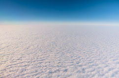Perfect clouds from the Sky Stock Photography