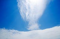 Perfect cloudy sky Stock Photos