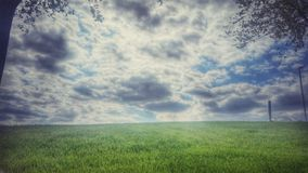 Perfect Cloudy Sky Royalty Free Stock Photos