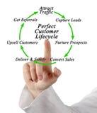 Perfect Customer Lifecycle Stock Photos
