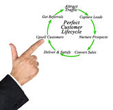 Perfect Customer Lifecycle Royalty Free Stock Image