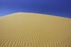 Perfect desert sand dunes Royalty Free Stock Photos
