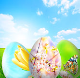 Perfect easter background Royalty Free Stock Photos