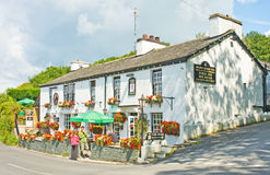 A perfect English pub. Royalty Free Stock Photo