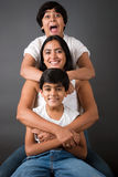 Perfect Family Fun Royalty Free Stock Photography