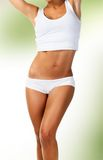 Perfect female body Stock Images