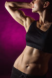 Perfect female body Royalty Free Stock Photography