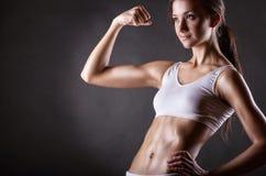 Perfect female body royalty free stock photos