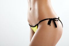 Perfect female body close up photo Royalty Free Stock Photos