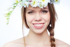 Perfect female Royalty Free Stock Photography