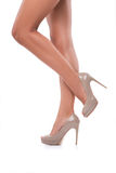 Perfect female legs Royalty Free Stock Photo