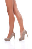 Perfect female legs Royalty Free Stock Photos