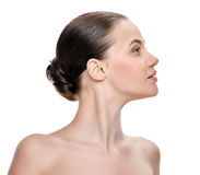 Perfect female neck Royalty Free Stock Photography