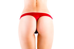 Perfect female sexy buttocks Stock Photography