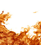 Perfect fire background Stock Image