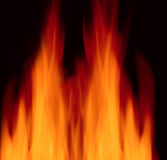 Perfect fire background Royalty Free Stock Images