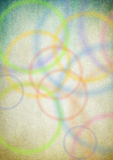 Perfect funky background. With circles Royalty Free Stock Photography