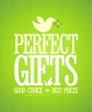 Perfect gifts design. Stock Photography