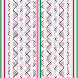 Perfect graphical seamless pattern. Geometrical texture. Seamless pattern with geometrical on striped and checkered colorful background Royalty Free Stock Photo