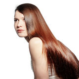 Perfect hair Stock Photography