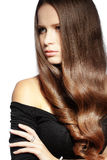 Perfect hair Stock Photos