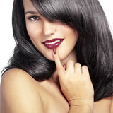 Perfect hair Royalty Free Stock Photo