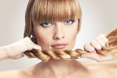 Perfect hair Royalty Free Stock Photos