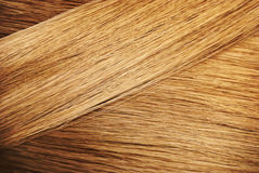 Perfect hair sample. Perfect healthy dyed blond hair sample. Color hairstyle palette swatches stock photos