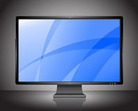 Perfect HDTV display Royalty Free Stock Photo