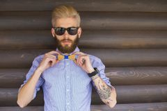 Perfect hipster outfit stock photography