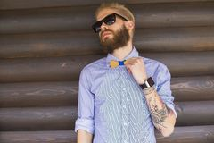 Perfect hipster outfit Royalty Free Stock Photos