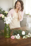 Perfect housewife Stock Photography