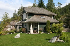 Perfect Huis Stock Foto